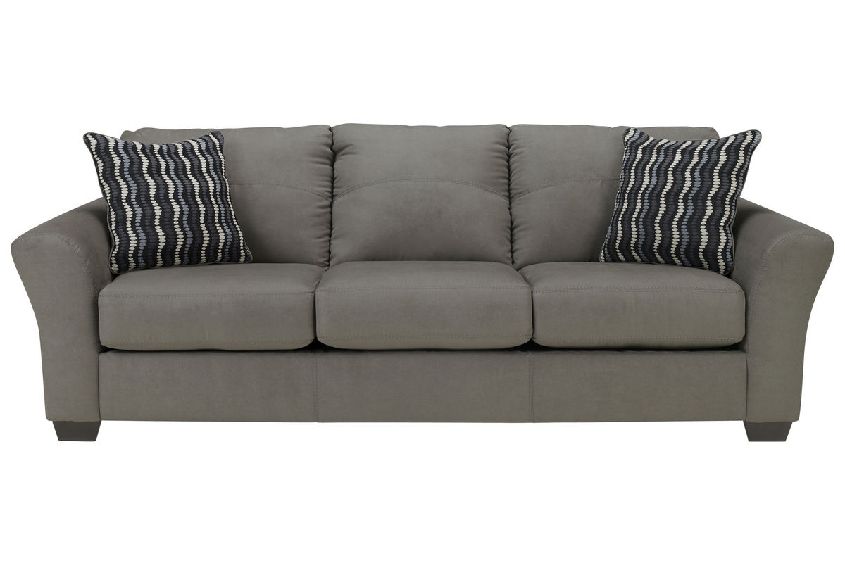 white microfiber sectional sofa simmons beds osborn at gardner