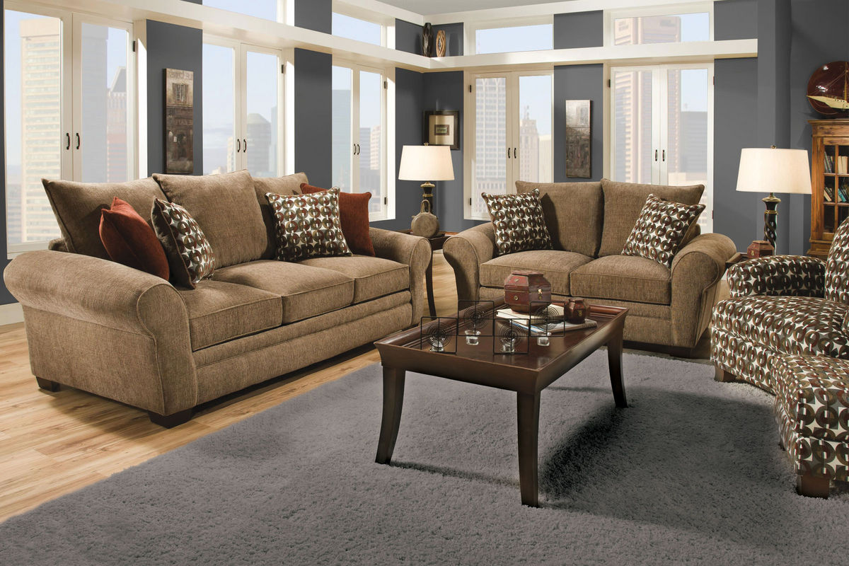 gardner white living room sets colour shed for resort chenille sofa at