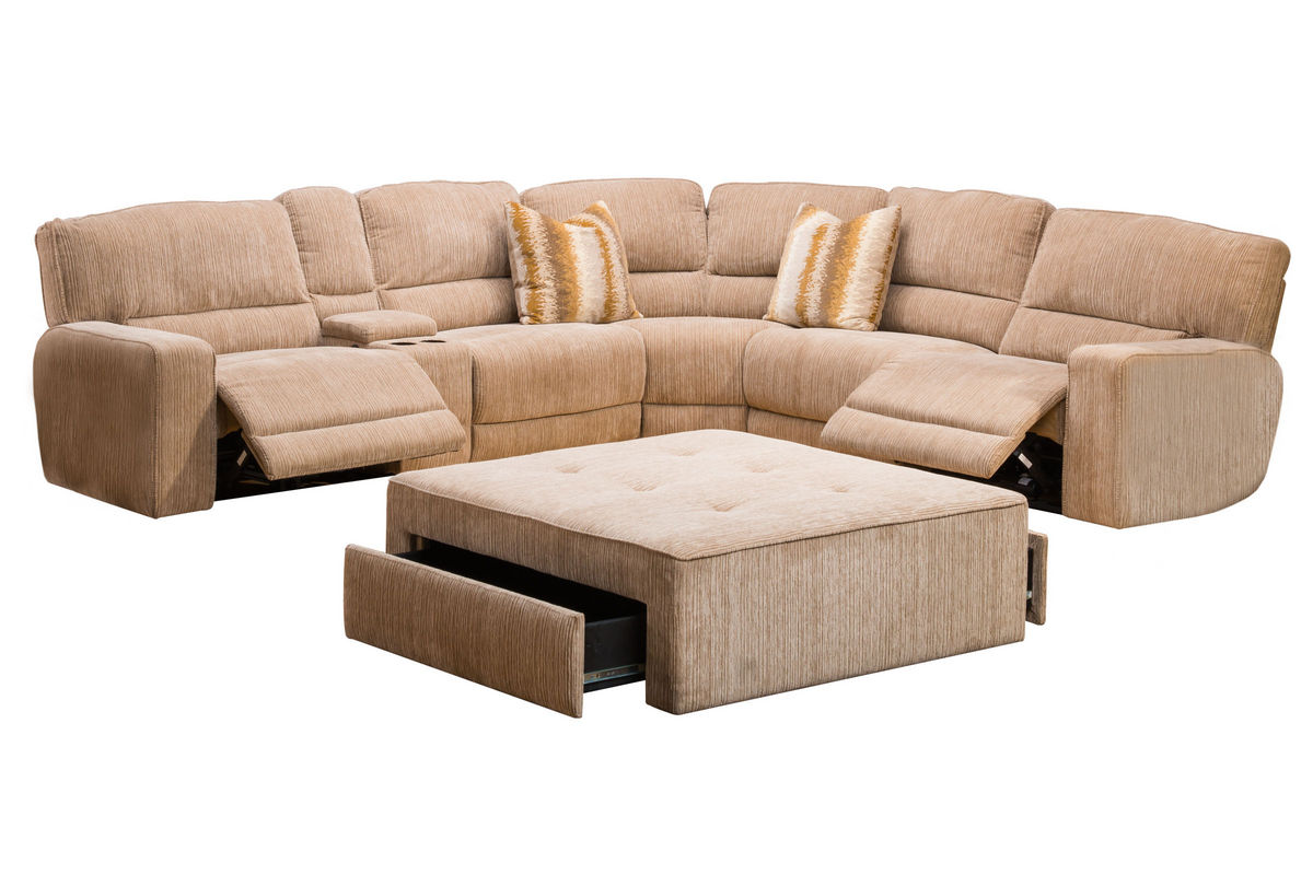 4 piece recliner sectional sofa outdoor daybed ballard power reclining at gardner white