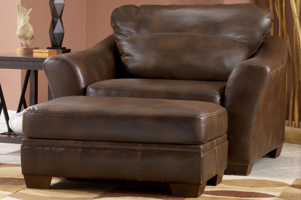 oversized leather chair and ottoman buy covers brisbane barclay over sized at gardner white