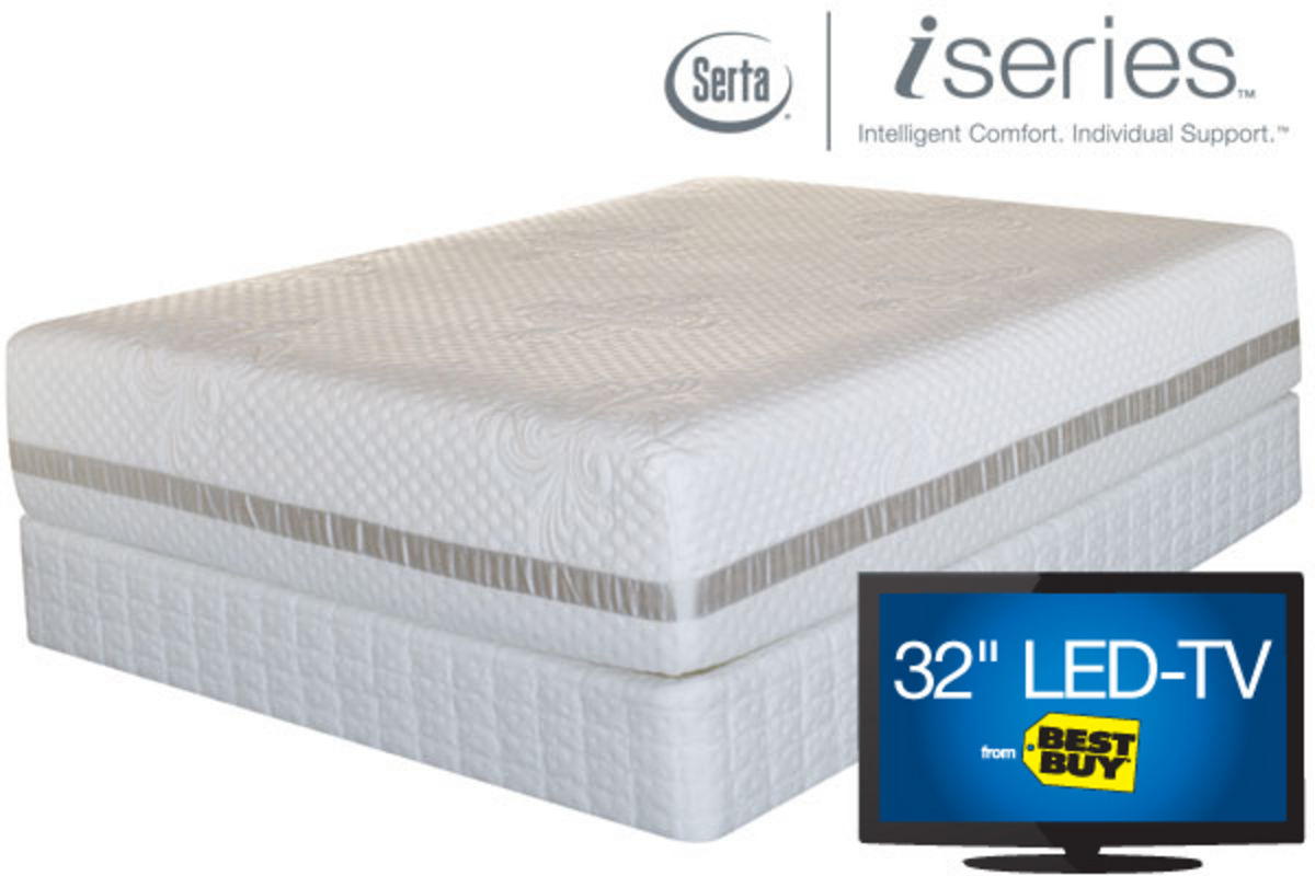iSeries by Serta Merit Twin XL Mattress iSeries by Serta Merit Collection in Mattresses at