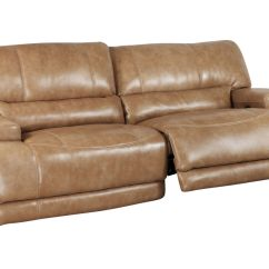 Reclining Sofa Leather John Lewis Felix Lhf Chaise Corner Hamlin Power At Gardner White