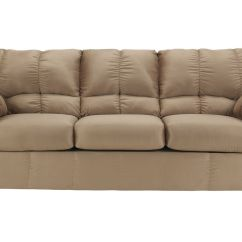 White Microfiber Sectional Sofa Preco Retratil 1 Lugar Calder At Gardner