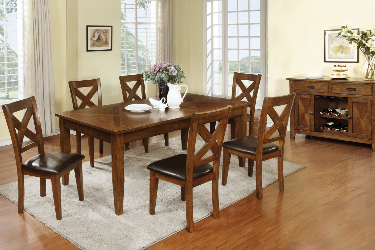 Lidia Dining Table  4 Side Chairs at GardnerWhite