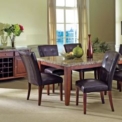 White 6 Chair Dining Table Proper Posture Montibello 4 Chairs At Gardner