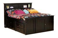 Laguna Black Full Bookcase Bed at Gardner-White