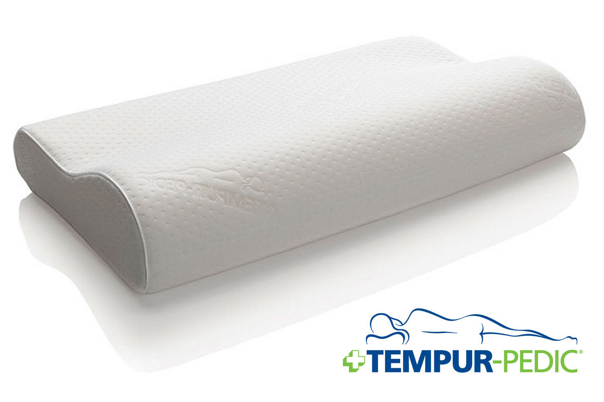 TEMPURNeck Queen Medium Pillow at GardnerWhite
