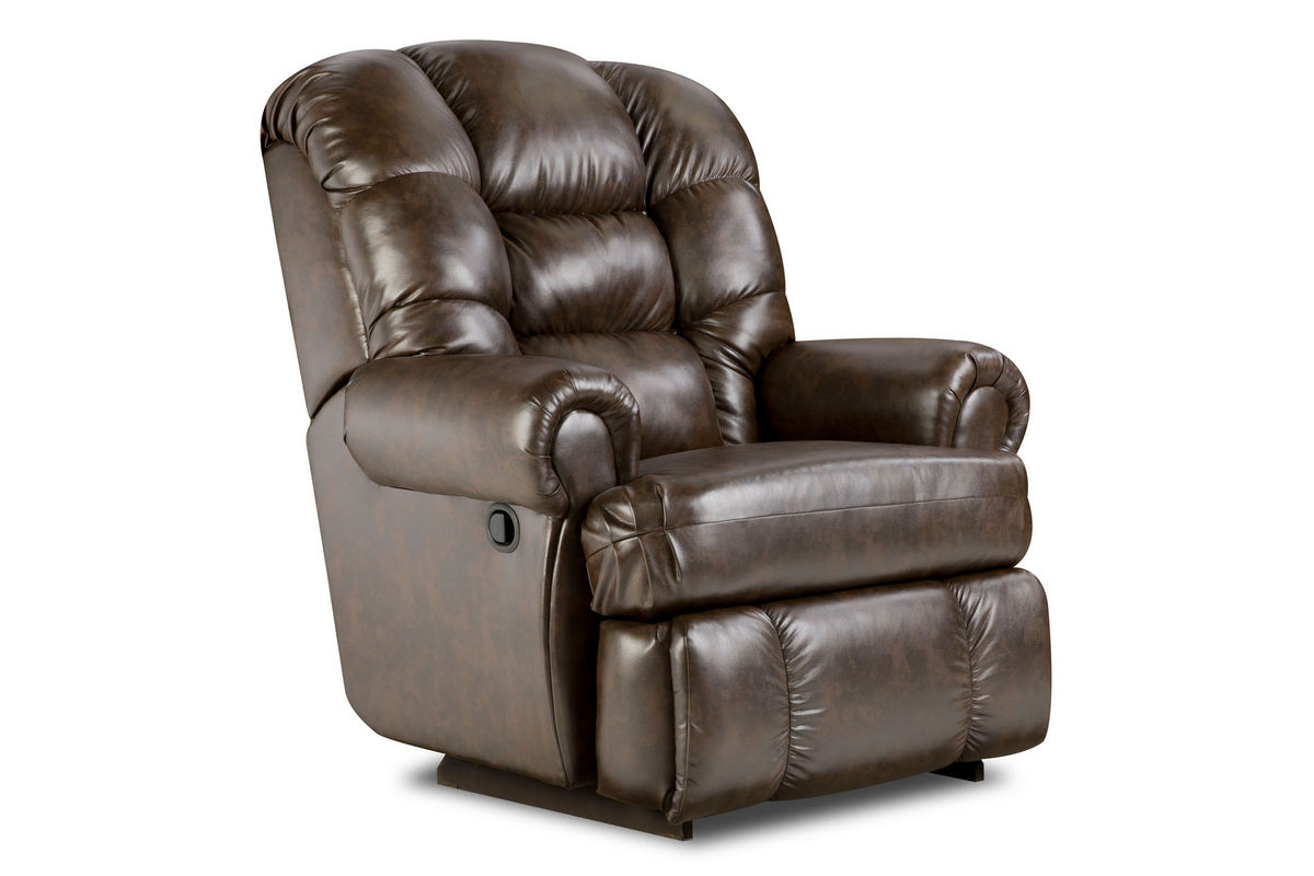 Big Man Leather Recliner at GardnerWhite