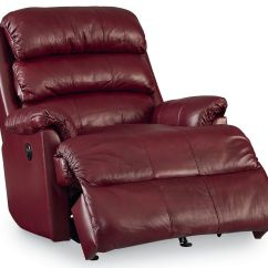 All Leather Recliner Chairs Plastic Chair Design With Price Burgundy Rocker At Gardner White