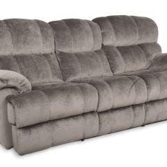 Microfiber Sofa And Loveseat Recliner Modern Grey Sleeper Smoky Power Reclining At Gardner White