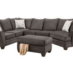 Cosmo Sofa Cotton Duck Cover Microfiber Sectional At Gardner White