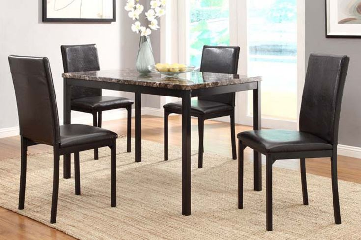 julia dining table + 4 chairs at gardner-white
