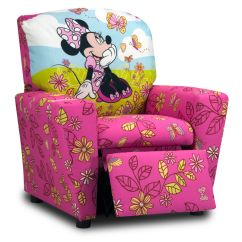 Minnie Mouse Recliner Chair Disposable Folding Covers Kids At Gardner White