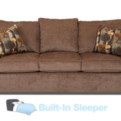 Queen Sofa Beds Clearance Make Your Own Table Bayside Chenille Sleeper At Gardner White