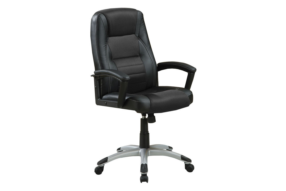 office chairs white leather dxracer chair warranty black 800209 at gardner