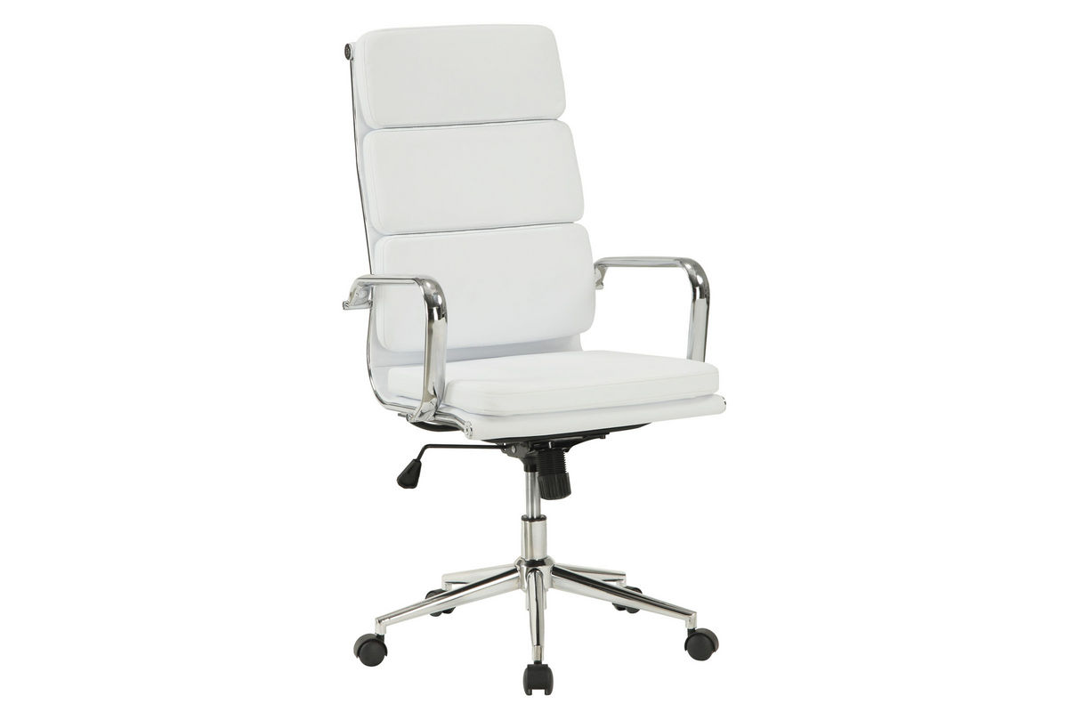 office chairs white leather swivel club chair slipcover 800837 at gardner