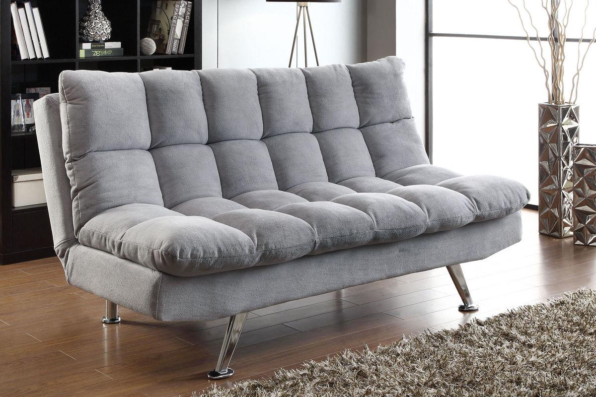 Grey Futon 500775 at GardnerWhite