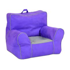 Soft Toddler Chairs Wedding Chair Hire Central Coast Nsw Zippity Kids Sided With Handle Perfectly Plum