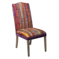 Colorful Accent Chair Double Seater Camping Surya Multi Colored At Gardner White