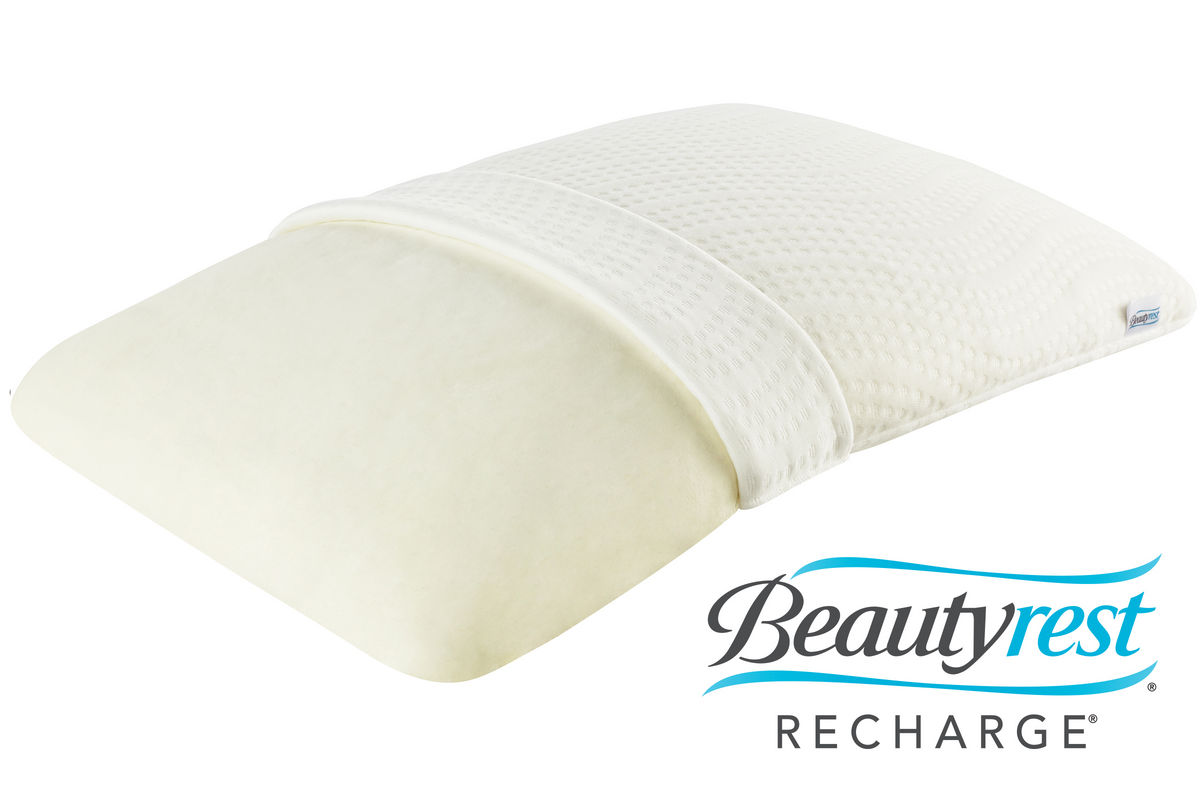 Beautyrest Recharge Memory Foam Pillow at GardnerWhite