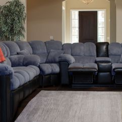 Sofas And Recliners Innovation Sofa Bed Microfiber Reclining Home Decor