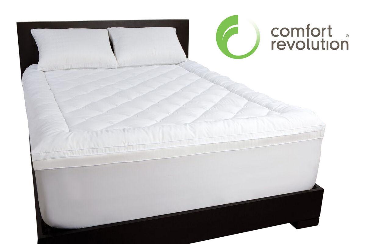 Twin Pillow Top 21 Memory Foam Topper at GardnerWhite