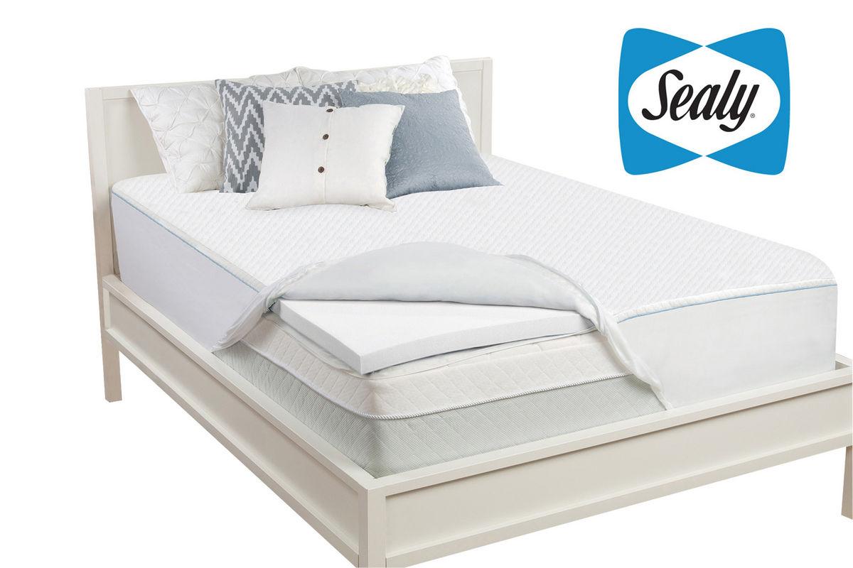 Sealy 2 Full Memory Foam Mattress Topper At Gardner White