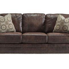 Nailhead Recliner Sofa Rolf Benz Freistil 184 Microfiber Sofas With Trim Home The Honoroak
