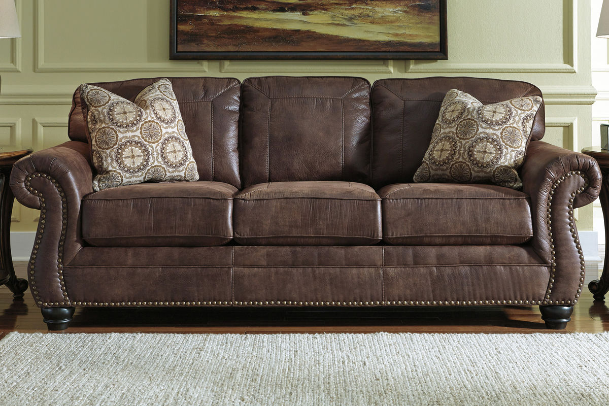 sofa nailhead set bad boy breville with trim at gardner white