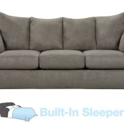 Queen Sofa Beds Clearance Wrought Iron Set Designs Pictures Only Upton Microfiber Sleeper At Gardner White