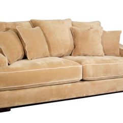 White Microfiber Sectional Sofa Grey Modern Living Room Cooper At Gardner