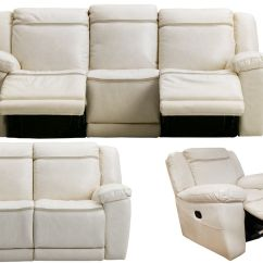 White Reclining Sofa And Loveseat Luxury Leather Brands Isabel 43 Glider Recliner