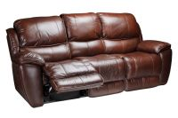Crosby Leather Reclining Sofa at Gardner-White