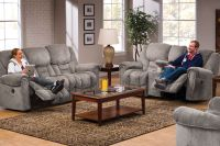 Denmark Microfiber Reclining Sofa at Gardner-White