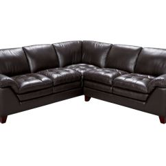 Armless White Leather Sofa Custom Sofas Orange County Ca Amaretto 2 Piece Sectional And Chair At