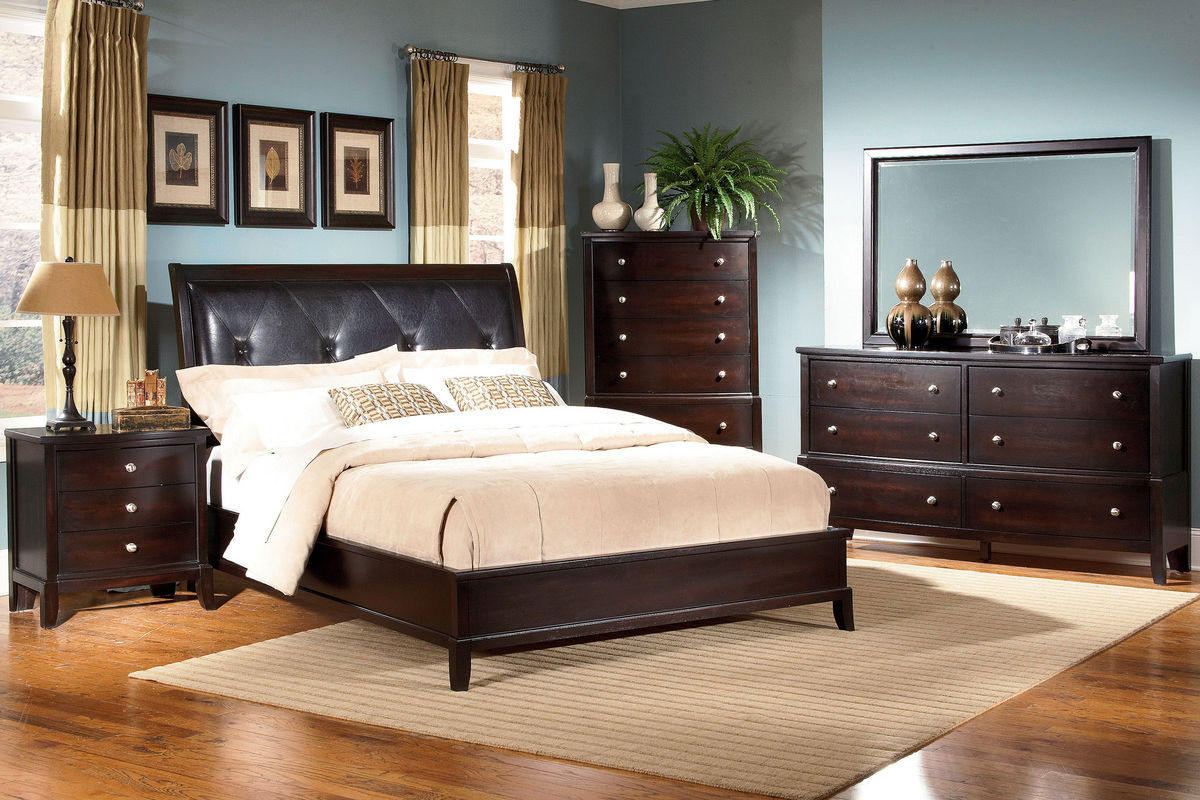 unique 5-piece queen bedroom set