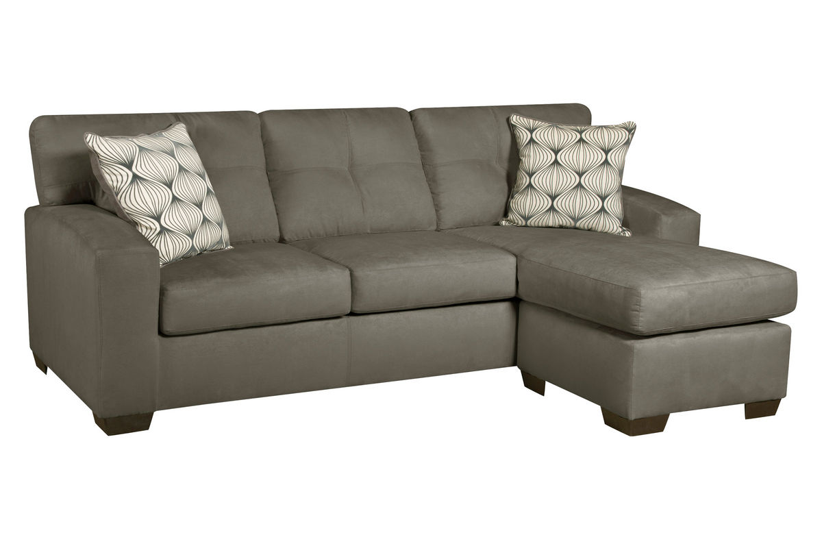 klaussner loomis sectional sofa luxe slipcover 2 seat with chaise and coffee table