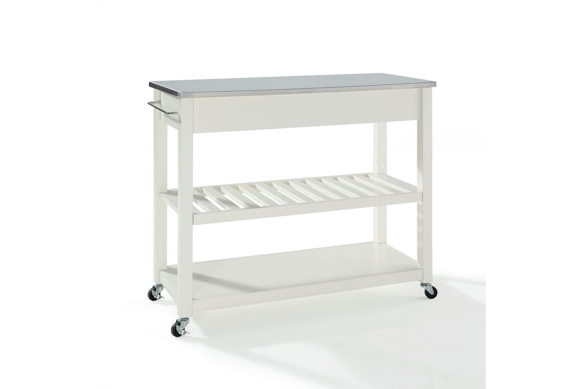 stainless steel stools kitchen clean cabinets top cart island with optional
