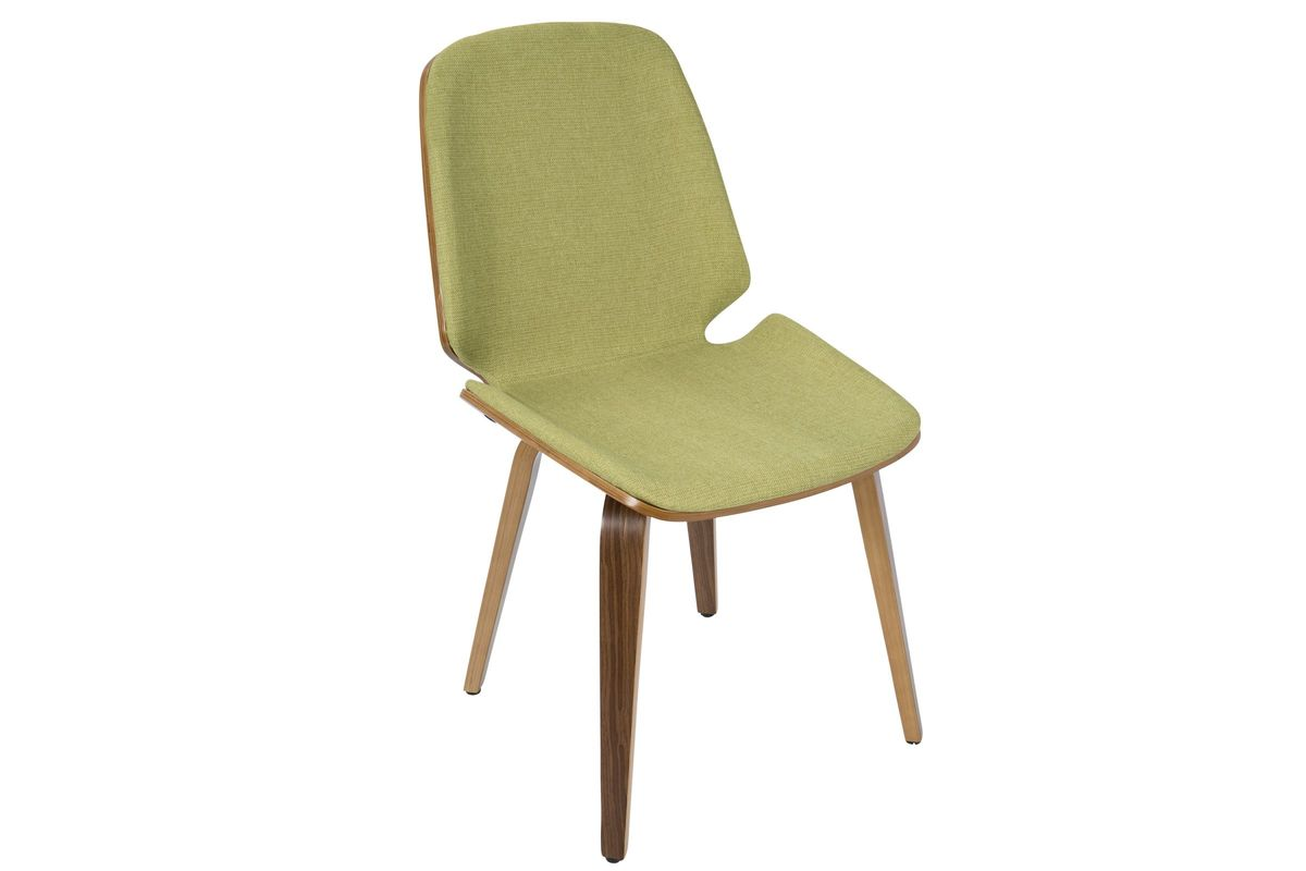 modern green dining chairs serta office chair warranty claim serena mid century in set of