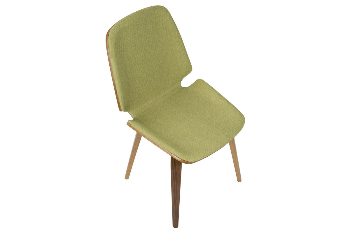 modern green dining chairs rooms to go sleeper chair serena mid century in set of