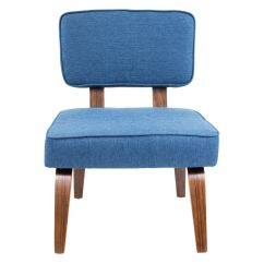 Navy Blue Accent Chairs Thomas Moon Chair Target Nunzio Mid Century Modern In By