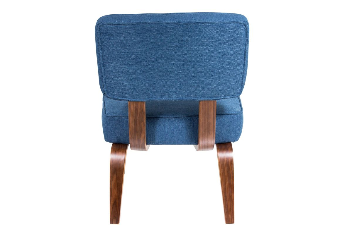 navy and white chair norwegian posture nunzio mid century modern accent in blue by