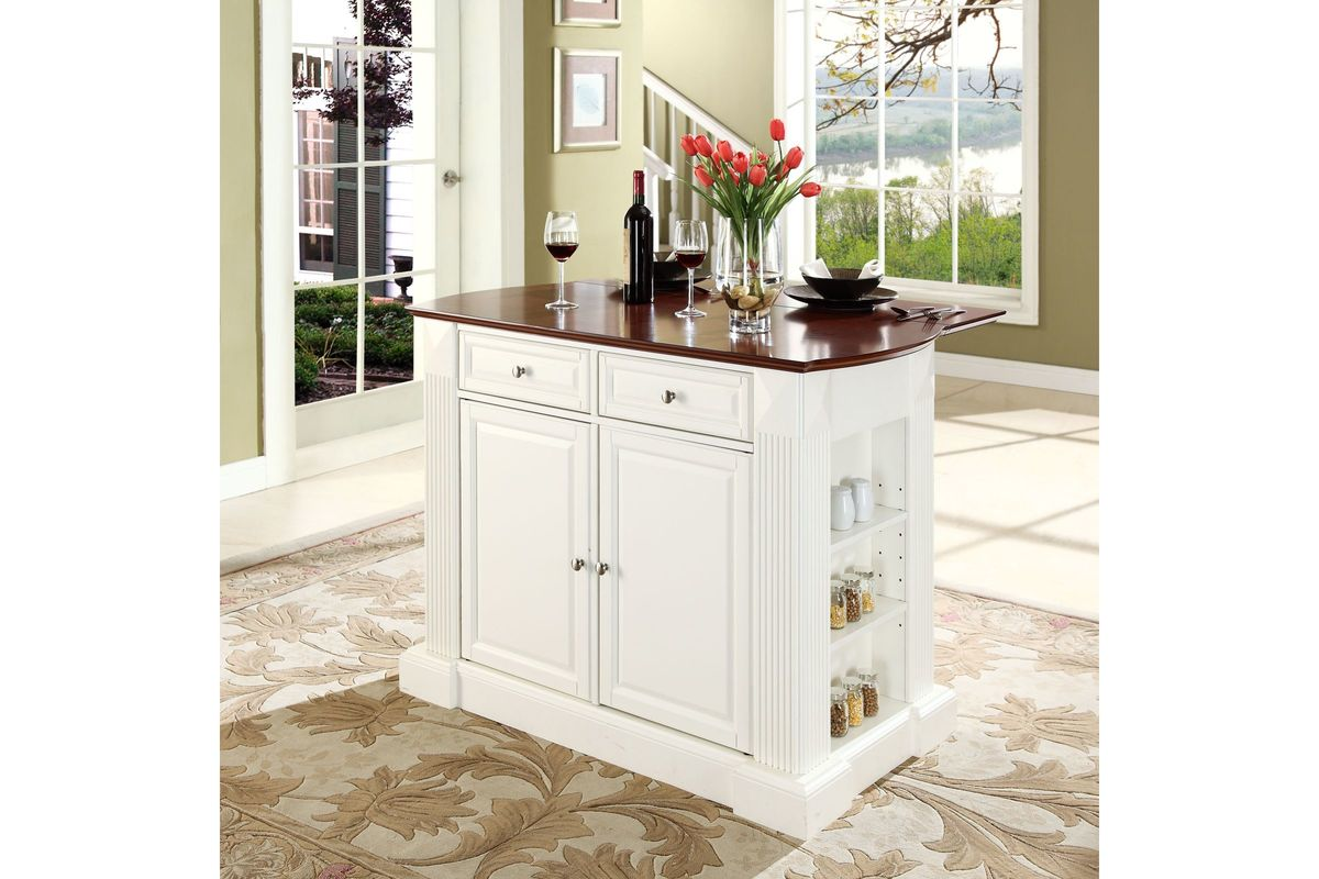 kitchen island with drop leaf clearance home depot remodel coventry breakfast bar top in