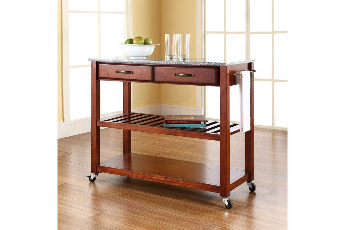 marble top kitchen cart table and chair set solid granite island with optional stool