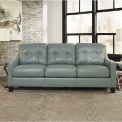 White Leather Sofa Furniture Village Corner Lounge With Bed Chaise Okean Sky At Gardner