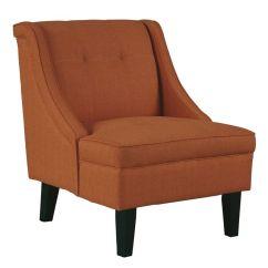Accent Chair Orange Silver Chiavari Chairs Clarinda In By Ashley At Gardner White