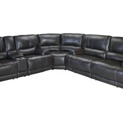 Leather Sectional Sofas With Power Recliners Turquoise Sofa Uk Cannon Reclining At Gardner White