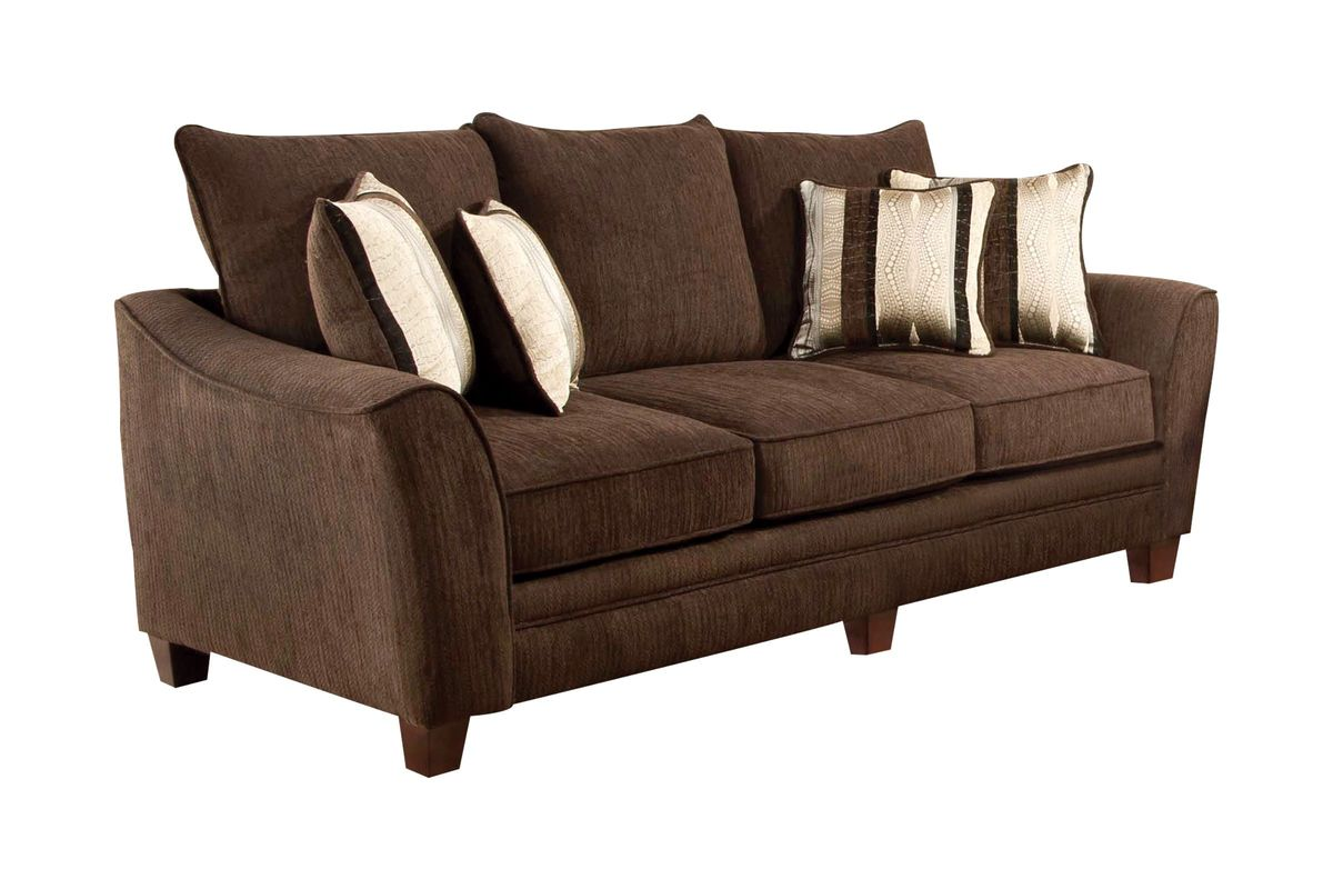 chenille sofa beds buchannan microfiber sectional with reversible chaise taupe bed bayside at gardner white