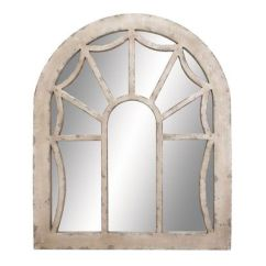 Gardner White Living Room Sets Eg Wooden Escape Walkthrough Rustic Arched Wall Mirror In Distressed Ivory By Uma