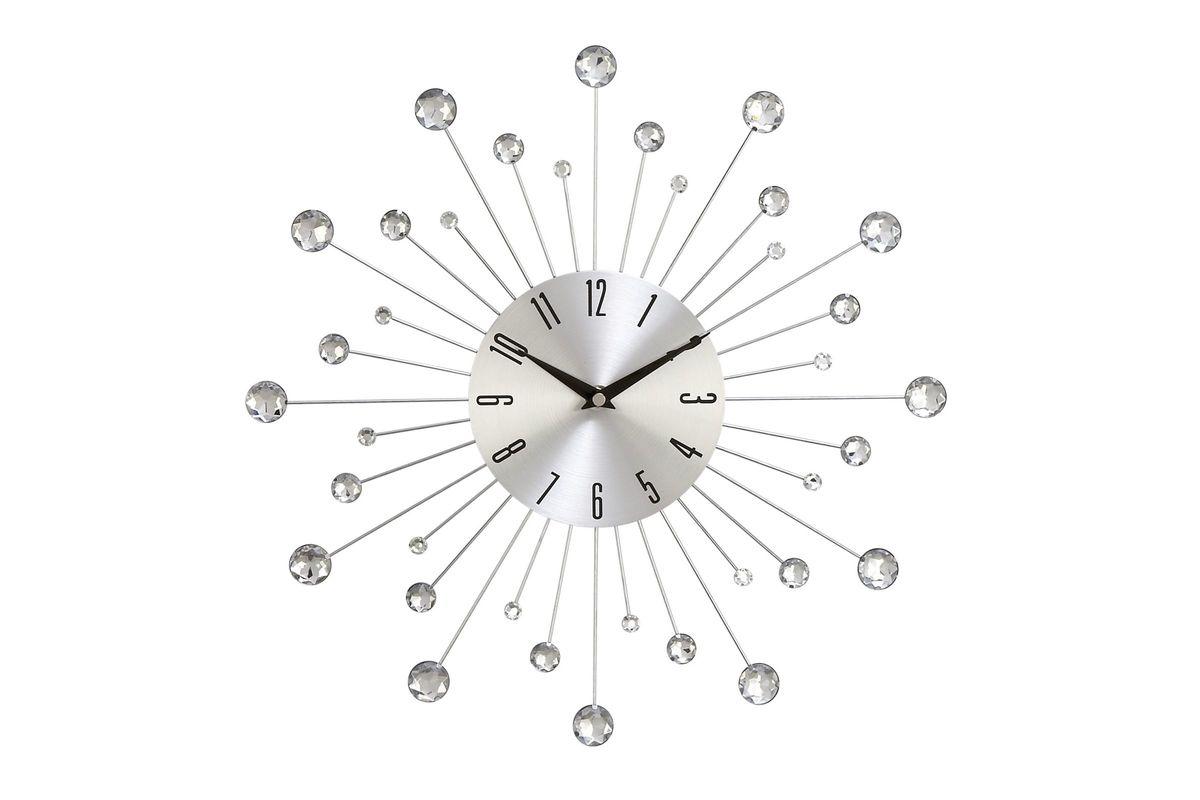 Modern Reflections Metal Wall Clock At Gardner White